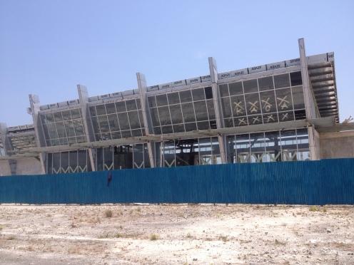 Bandara baru sedang dibangun
