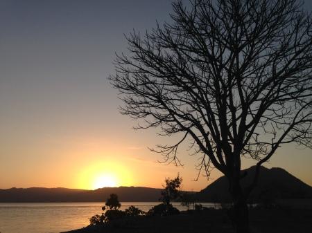 Sunset di Pantai Sabanjar