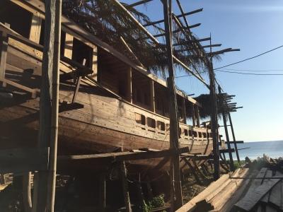 Tanah Beru, tempat pembuatan kapal pinisi